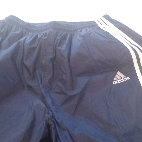 Vintage Adidas Navy Blue XXL Windpants Unlined